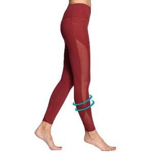 6ac4d8ed2459fa Pants - Women Yoga Compression Pants Mesh Leggings Pants